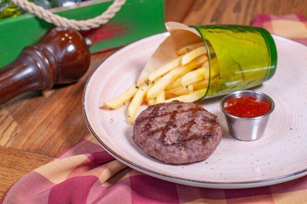 Біфштекс з мармурової яловичини