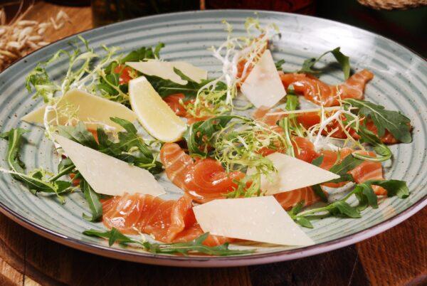 Карпачо з охолодженого  лосося