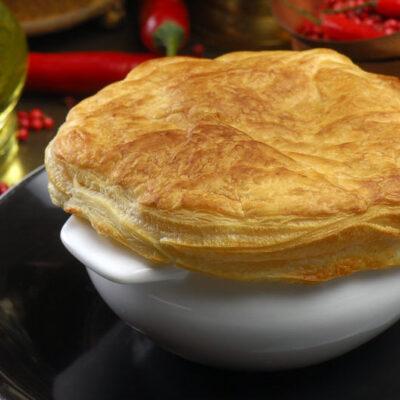 Трюфельний суп з качкою