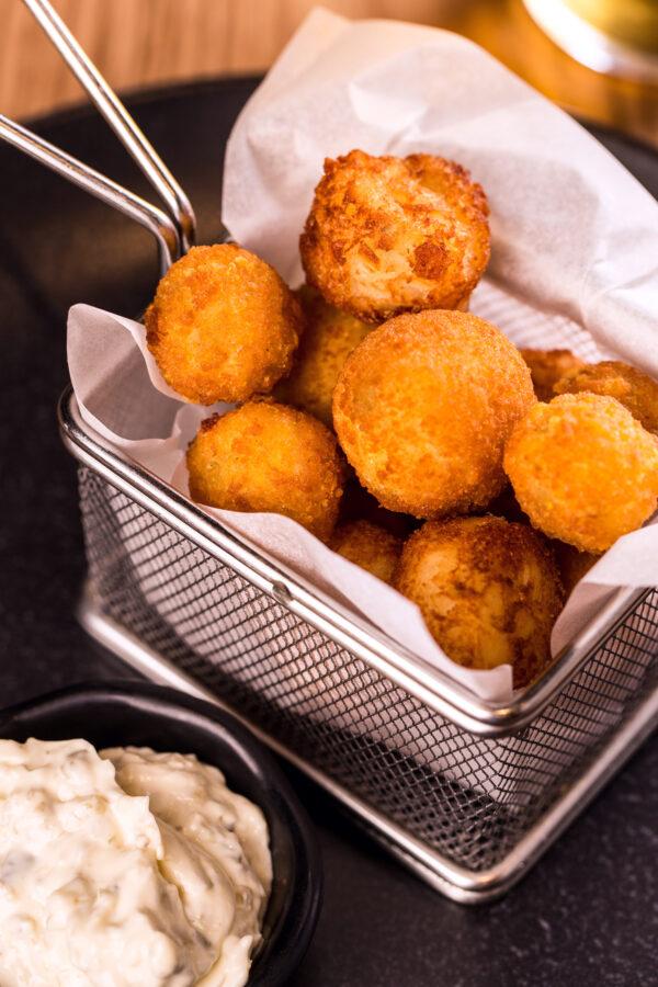 Сирні та картопляні крокети