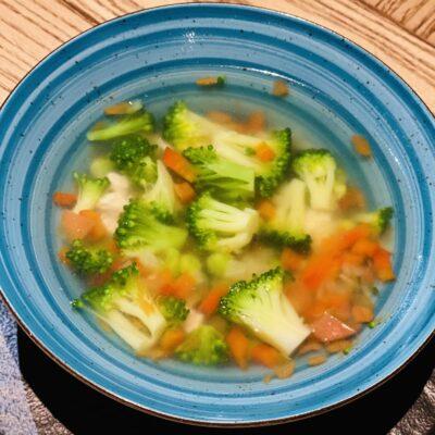 Овочевий суп з індичкою