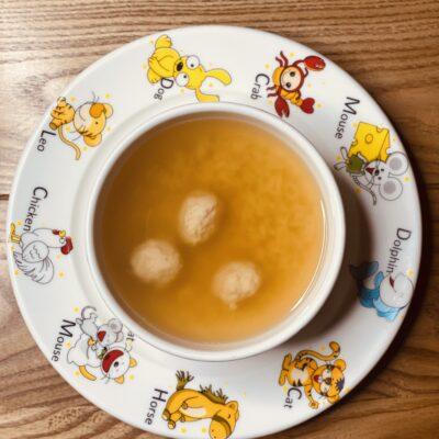 Суп «Абетка» з мітболами