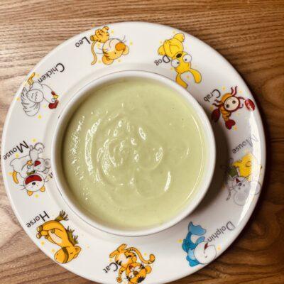 Крем-суп вітамінний з броколі та цвітної капусти