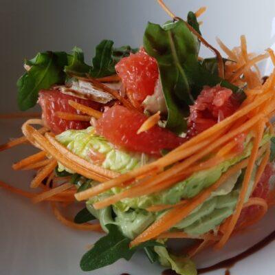 Фіт-салат з морквою та грейпфрутом
