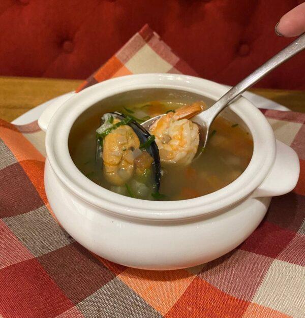 Тосканський суп з морепродуктами